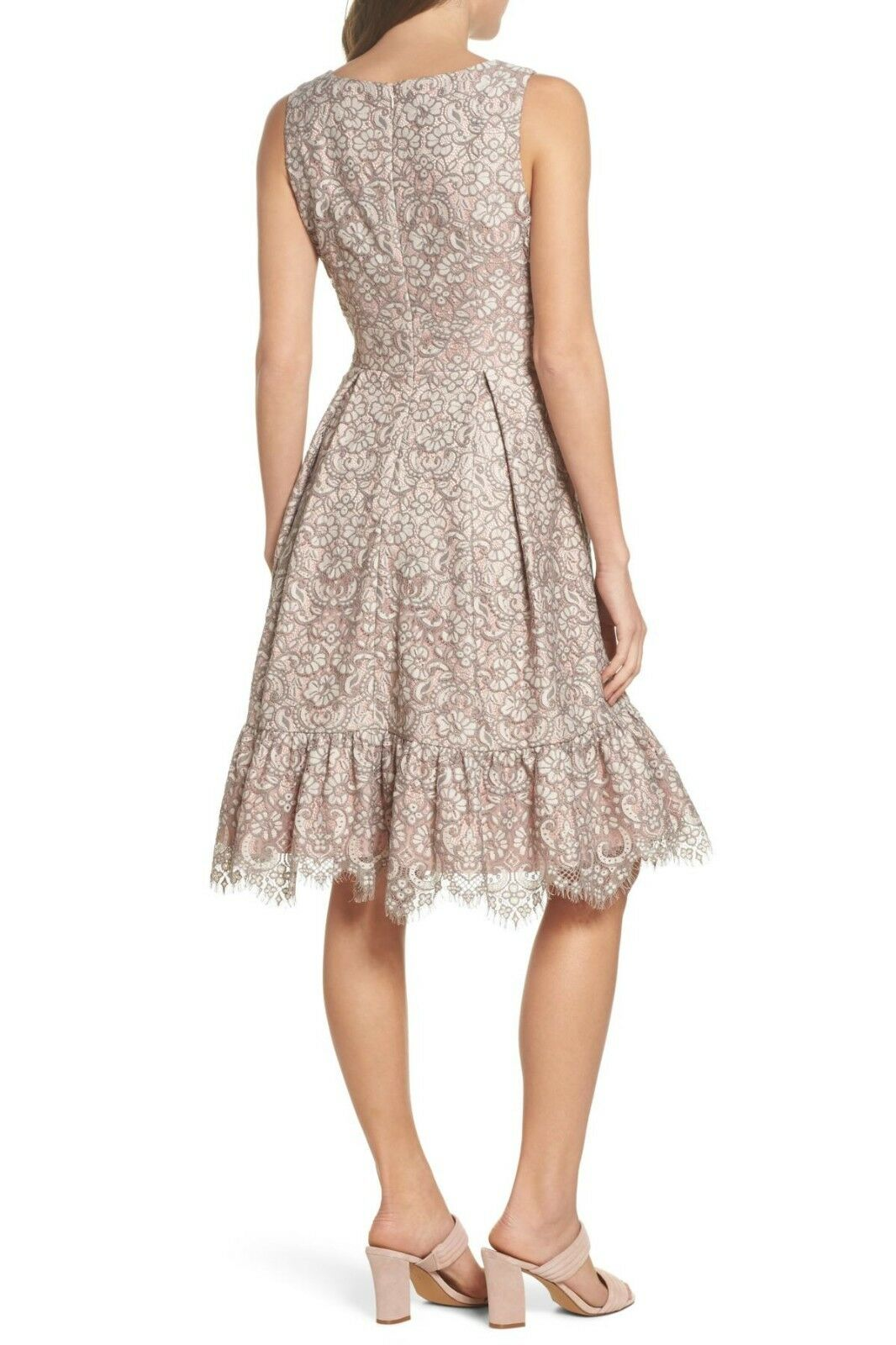 Eliza J  Lace Fit Fit Fit & Flare Dress ( Size 8 ) 49bad6