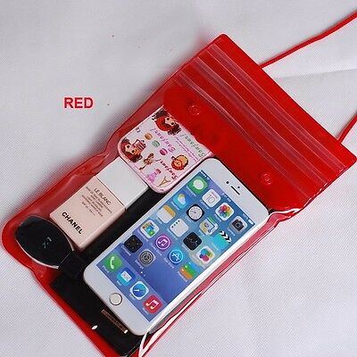 Waterproof Underwater Case Cover Bag Dry Pouch For Mobile Phones Gadgets UKstock