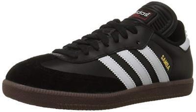 Adidas Samba Scarpe Indoor Pelle Nera Bianco 43 13 for sale