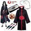 Indexbild 1 - Naruto AKATSUKI ROBE Cloak Uchiha Itachi Cosplay Costume Claok Cape Unisex S-XXL