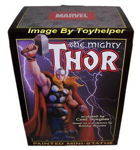 The-Mighty-Thor-Mini-Statue-0482-8500-Figure-Comic-NIB-Randy-Bowen