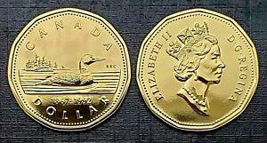 Canada-1992-Gem-UNC-Proof-Like-Gem-Loonie