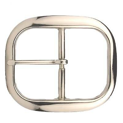 "Belt Buckle Nickel Plate Center Bar 1-1/2"" (3.8 cm) 1566-22 by Stecksstore"