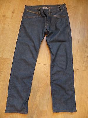 Miele Levi Jeans Da Uomo Blu's Taglia 30 Girovita 34 Gamba-mostra Il Titolo Originale