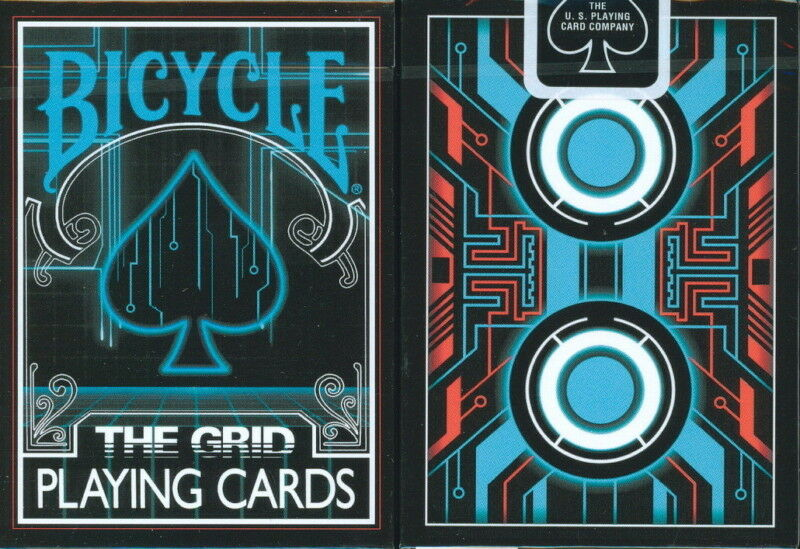 CARTE DA GIOCO BICYCLE THE GRID,poker size