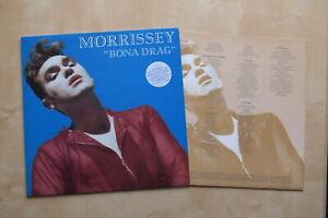 MORRISSEY-Bona-Drag-UK-1st-press-vinyl-LP-with-inner-HMV-CLP-3788-The-Smiths