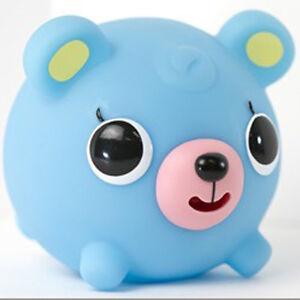 Oshaberi Doubutsu Talking Squeak Squishy Press Animal Ball Cute Toy Charm (Bear) eBay