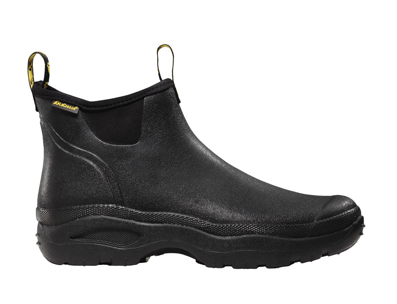 LACROSSE shoes en caoutchouc HAMPTON - 3,5 mm Néoprène - black - 200050