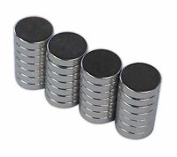 90 Neodymium Magnets 1/4 X 1/16 N48 Super Strong Refrigerator Rare Earth Magnets
