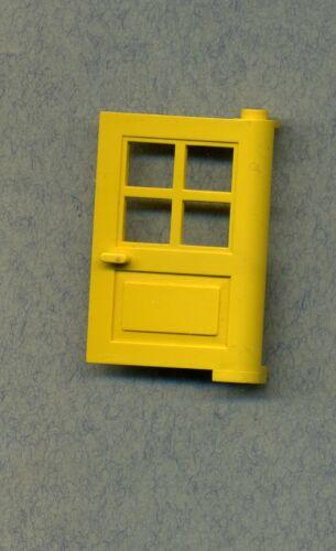 Lego--3861 Gelb Mit Gitterfenster 1 x 4 x 5 Türe Haustüre