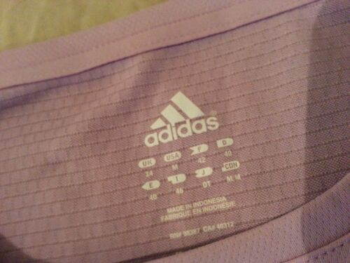 M Camisa Mujer Athletic Medium Lavender Adidas Purple 6EEqrxRg