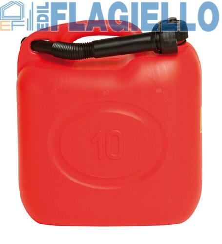 Tanica per carburante Omologata da 10 lt benzina