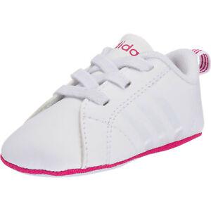 Details zu Neu adidas Sport Inspired Krabbelschuhe VS ADVANTAGE CRIB für Mädchen 5809112