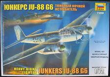 ZVEZDA 7269 - JUNKERS Ju-88 G6 - 1:72 - Flugzeug Modellbausatz - Model KIT