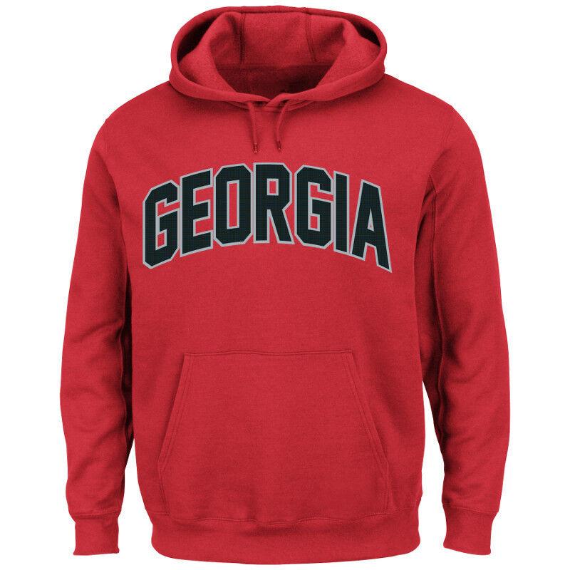 NCAA College Hoody GEORGIA BULLDOGS BULLDOGS BULLDOGS Hoodie Kaputzenpullover Cheering Football e25666