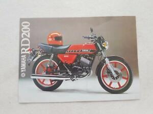 YAMAHA-RD-200-Motorcycle-Sales-Brochure-1979-LIT-3MC-0107237-79E
