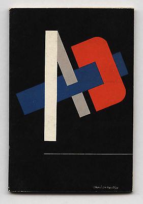 1941 E. McKnight Kauffer Cover + Feature A-D Mag Arnold Newman + Ben Rose Photos