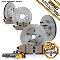 Front + Rear Brake Rotors Ceramic Pads 1994 1995 1996 Chevy Impala Ss Caprice on sale