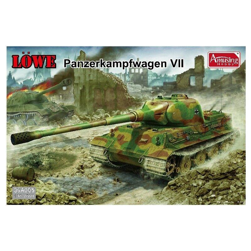 Amusing Hobby 35A005 WWII 1 35 Model Kit Tank - Löwe Panzerkampfwagen VII