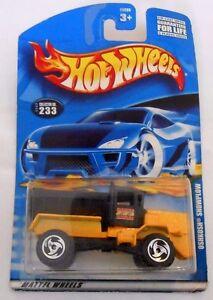 Mattel-Hot-Wheels-OSHKOSH-SNOWPLOW-Collector-No-233-2000-New-in-package
