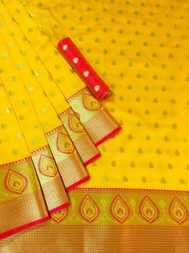 Bollywood Saree Sari With Blouse Indian Traditional akistani Sarees Ethnic AE