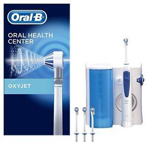 BRAUN-ORAL-B-HEALTH-CENTER-OXYJET-IDROPULSORE-CON-SISTEMA-PULENTE