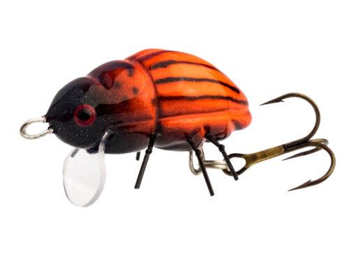 Microbait Colorado Beetle 24mm 1.6g Floating Oberflächen Köder FARBEN NEU 2020