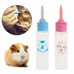 Pet-Milk-Bottle-30ml-Silicone-Nipple-Small-Animal-Feeding-Hamster-Cat-Dogs-PupDO