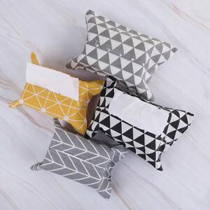 tissue box home bathroom toilet paper napkin holder case car storage rh ebay co uk