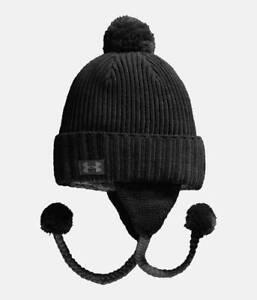Women-s-UA-Under-Armour-Snowmelt-Earflap-Winter-Beanie-Ski-Holiday-Hat-CLEARANCE
