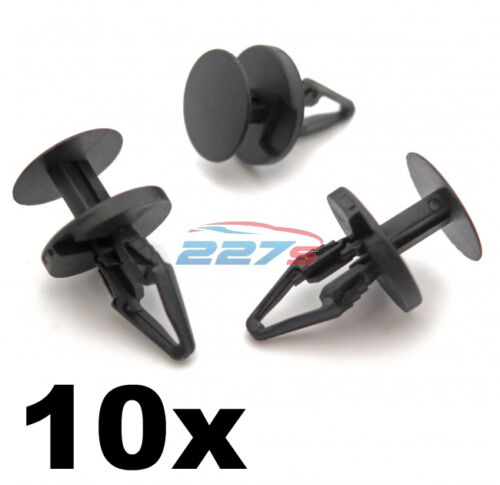 10x Ford Plastic Trim Clips Bumper Splitter and Wheel Arch Lining Clips
