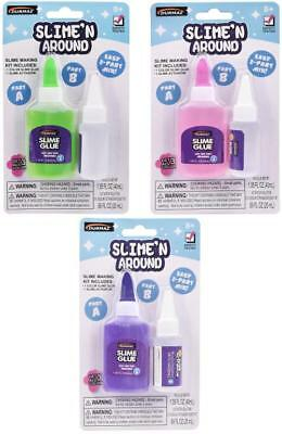 Diy Weird Fluffy Slime Kit Science Chemistry Making Stress Relief Toy Kids Gift Ebay