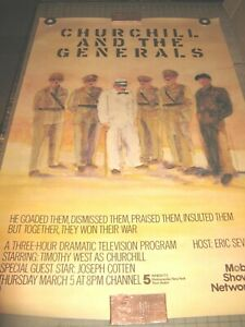 1980-039-s-CHURCHILL-and-The-Generals-MOBIL-MASTERPIECE-THEATER-30-034-x-46-034-POSTER