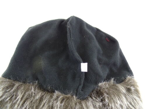 Mütze Pilotenmütze Fellbesatz mit Zöpfe ROT GELB LILA UP Accessoires Varianten