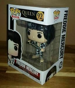 Queen Freddie Mercury POP Rocks #92 Vinyl Figure FUNKO