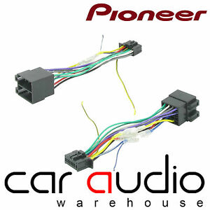 pioneer 16 pin iso head unit replacement car stereo wiring harness rh ebay co uk