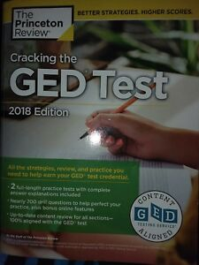 cracking the ged test with 2 practice exams 2018 edition