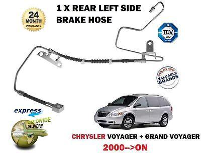 For Chrysler Grand Voyager 2.4 2.5DT 2.8DT 3.3 2000 Rear Left Side Brake Hose