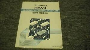 details about 2004 toyota rav4 rav 4 electrical wiring diagram ewd service shop repair manual S10 Wiring Diagram