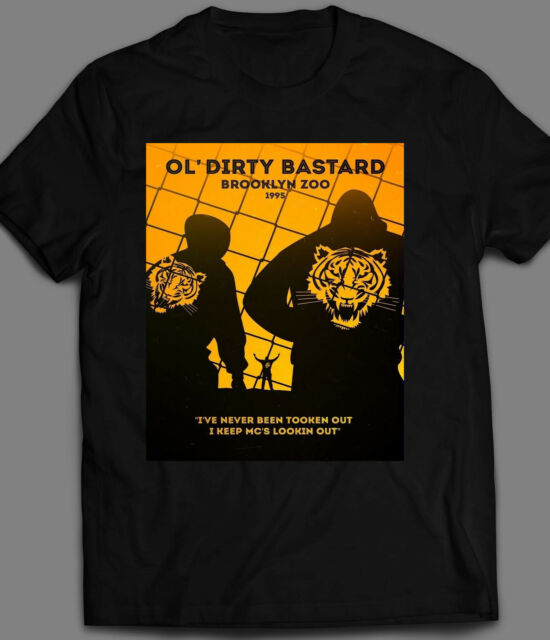 ODB Album Cover Ol Dirty Bastard Ticket For Food Stamps men/'s t shirt white top