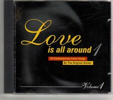 (GT568) Love Is All Around Vol 1, 18 tracks various artists - 1995 CD