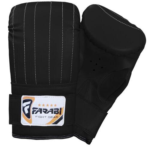 Farabi punch bag mitts  punching boxing gloves