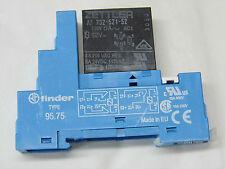 relais standard ZETTLER AZ73252152 250VAC 6A 12VDC 2RT + support relais rail din