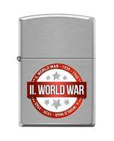 Zippo 200 World War Ii 1939-1945 Wwii Commemorative Lighter