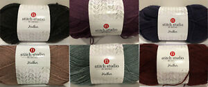 Stitch-Studio-Heather-4-Medium-Worsted-280g-Easy-Care-Yarn-Color-Choice