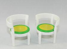 Playmobil City Life Wohnhaus Küche 2 x Stühle in weiß zu 5329 3965 4279 #34303