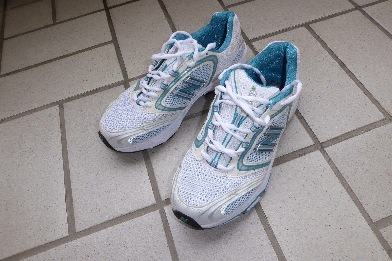 New Balance Schuhe Sneaker Turnschuhe Größe 10  bzw 41 1/2 blau weiß