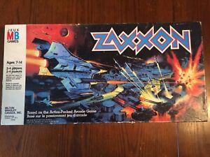 Zaxxon-Milton-Bradley-board-game-1982-Complete