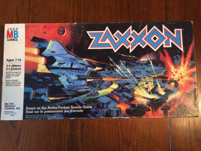 Zaxxon Milton Bradley board game 1982 - Complete