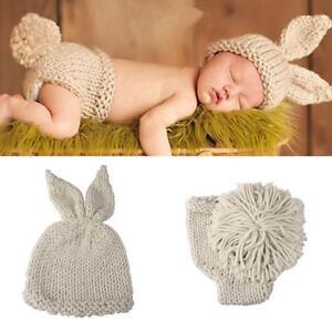 Baby Strick Mütze Fotoshooting Babykostüm Neugeborene Strickmütze Kostüm